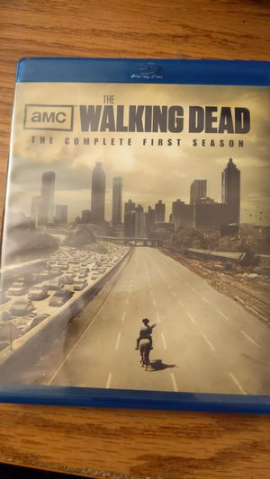 The walking dead complete first season bluray for Sale in Buffalo, NY