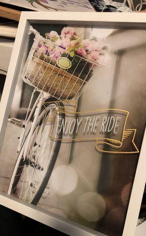 Enjoy the ride framed art for Sale in Fort McDowell, AZ