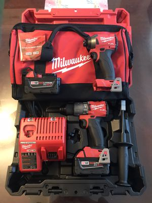 Milwaukee M18 Hammer Drill and Impact Driver Tool Kit for Sale in Los Angeles, CA