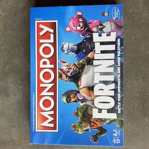 Fortnite Monopoly Was A Gift for Sale in Long Beach, CA