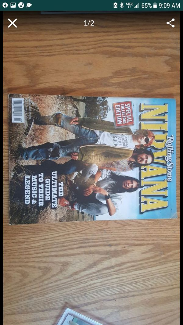 Rolling Stone Special Collectors Edition Issue Nirvana Kurt Cobain Issue