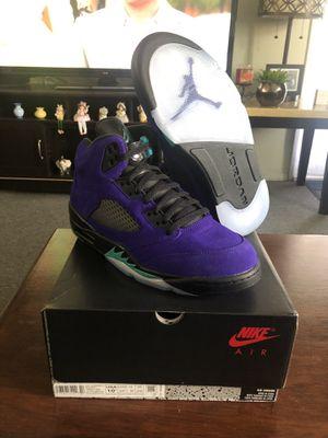 Jordan 5's Alternate Grapes Size 10.5 for Sale in Los Angeles, CA