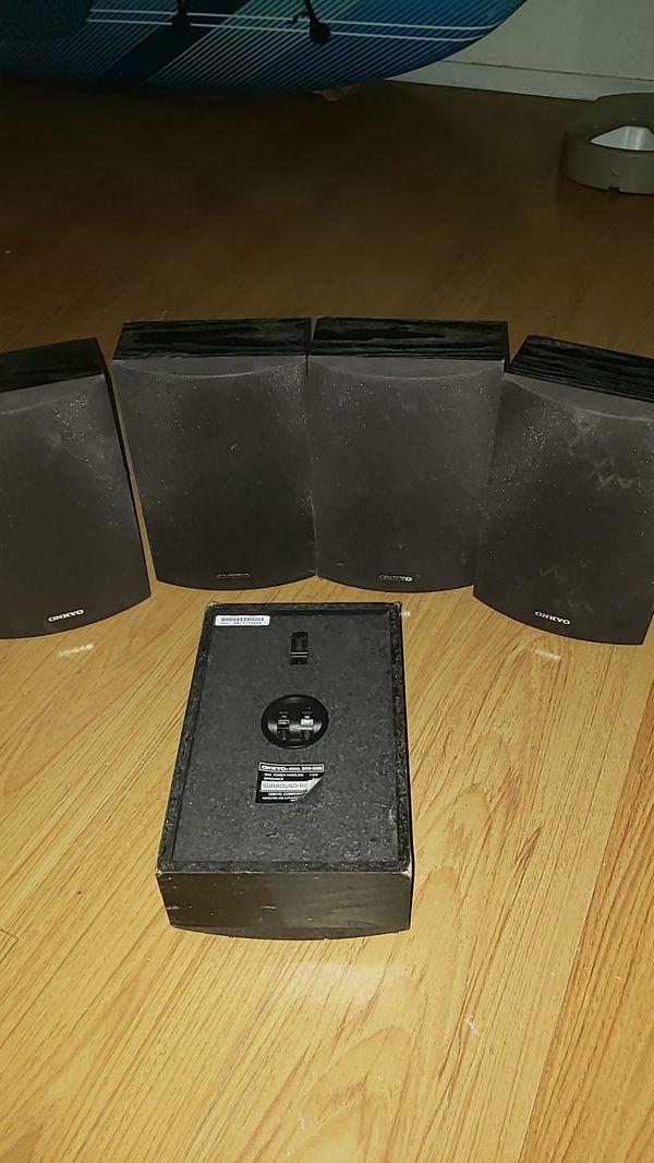 Onkyo surround sound speakers