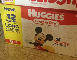 Huggies Number 6, 144 Ct for Sale in West Somerville, MA