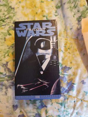 Star wars trilogy vhs for Sale in Manassas, VA