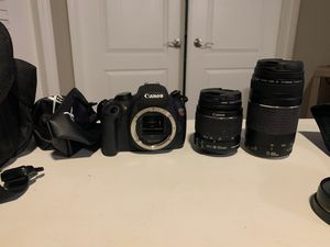 Canon EOS Rebel T5 WITH LENSES for Sale in Windermere, FL