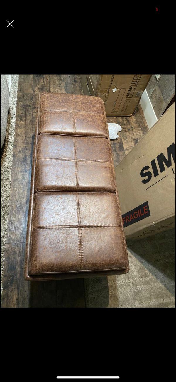 Ottoman Storage Bench