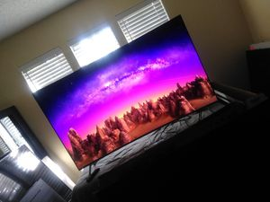 65` Samsung smart 4k curve TV with remote with 1 connect for Sale in San Antonio, TX