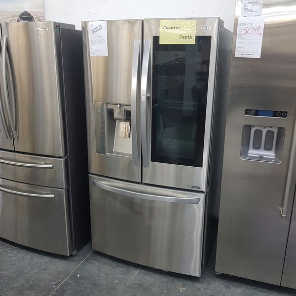 NEW LG French Door Bottom Freezer Refrigerator WARRANTY
