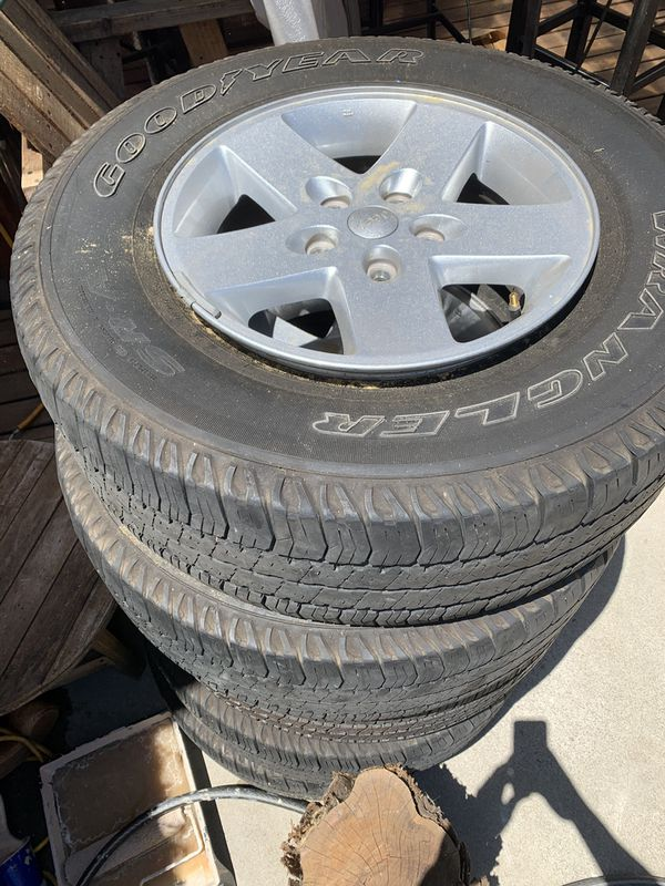 2017 5 Jeep Wrangler Wheels