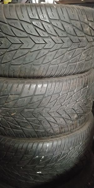 255/40r17. Challenger HP tires for Sale in Vancouver, WA