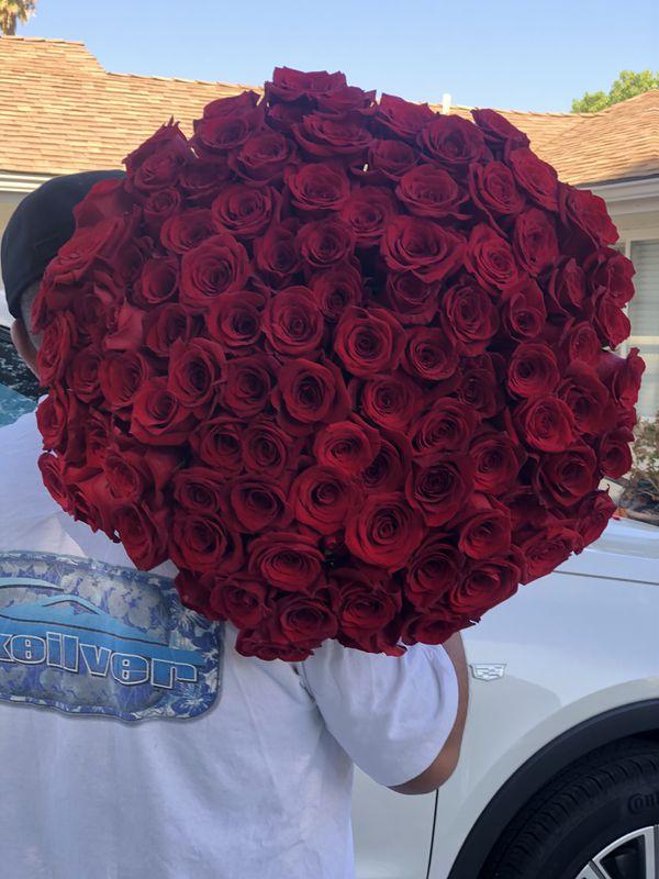 100 roses bouquet 🌹❤️😍