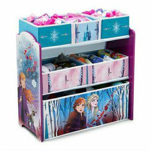 Disney Frozen II Design and Store 6 Bin Toy Organizer by Delta Children for Sale in Fort Lauderdale, FL