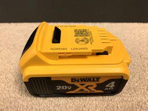 Brand new DEWALT 20V MAX Battery, Premium 4.0Ah (DCB204) for Sale in Arcadia, CA