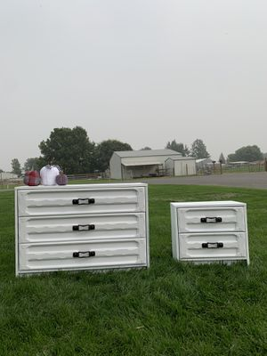 Farmhouse dresser and matching nightstand for Sale in Kennewick, WA