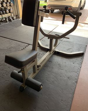 Workout Seated lower back row machine *USED* for Sale in Lake Worth, FL