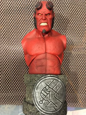 Hellboy mezco action figure bust hot toys sideshow for Sale in Los Angeles, CA