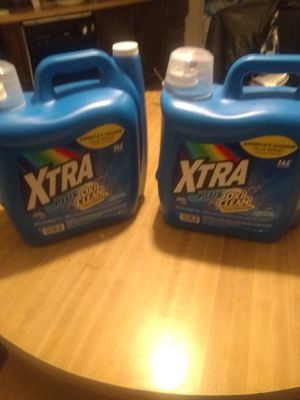Two containers full Extra Laundry detergent. 2 gallons each for Sale in Las Vegas, NV