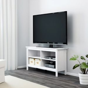 WHITE IKEA TV STAND for Sale in NJ, US
