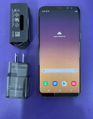 Samsung galaxy s8 plus unlocked for Sale in Somerville, MA