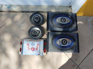 Car umplifier and speakers for Sale in Santa Ana, CA