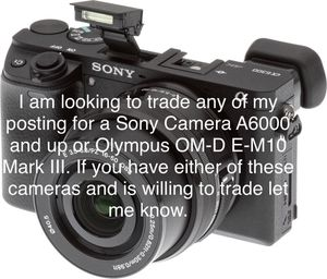 Looking to Trade for a Camera for Sale in Philadelphia, PA