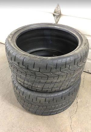 NEW 285 30 19 Pirelli P-ZERO Corsa tires (2) for Sale in Annandale, VA