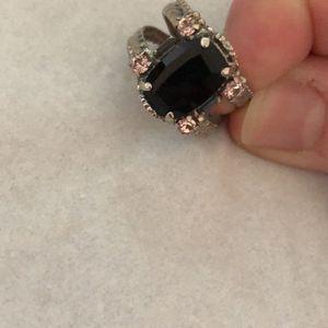 Onyx Cushion Cut Sorrelli Ring for Sale in Germantown, MD