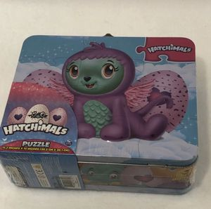 "Hatchimals puzzle 11.2""x15"" &Travel Case for Sale in Centreville, VA"