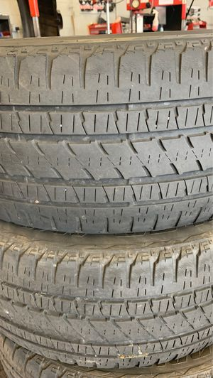 4 Bridgestone tires 285/45/22 for Sale in Manchester, CT