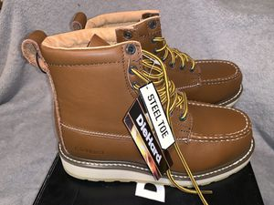 DieHard Steel Toe Boots (size 7.5) BRAND NEW for Sale in Santa Ana, CA