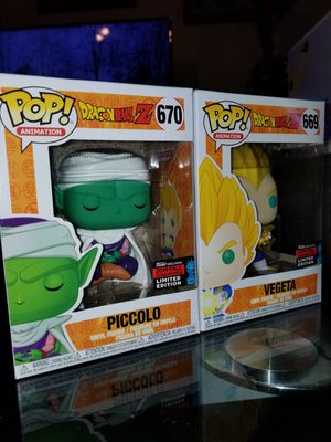 Funko pop dragon ball z nycc for Sale in Dallas, TX