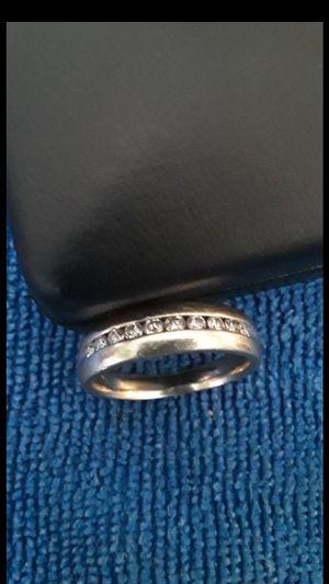 Wedding ring 10k white gold for Sale in Hesperia, CA