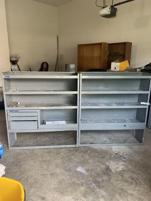 Storage shelves and cage divider for Sale in Bowie, MD