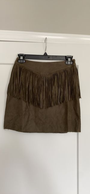 Fringe mini skirt for Sale in Rancho Santa Margarita, CA