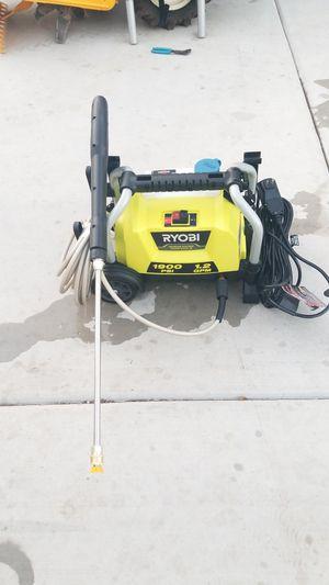 Ryobi electric power washer 1900psi for Sale in Phoenix, AZ