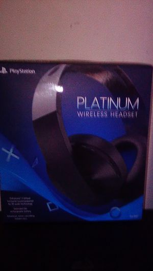 Playstation platinum gaming headset for Sale in Baltimore, MD