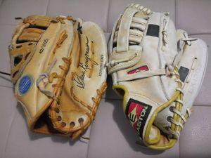Softball mitt baseball glove $15 each for Sale in San Leandro, CA