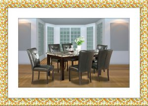 5pc dining table set with 4 chairs free delivery for Sale in Rockville, MD