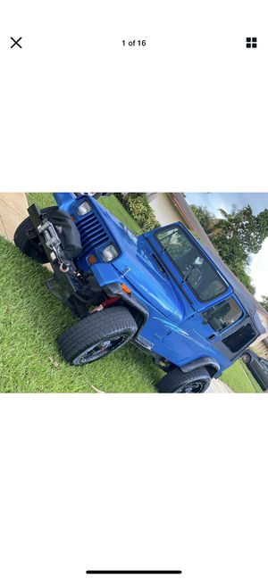 Jeep Wrangler parts for sale for Sale in Cape Coral, FL