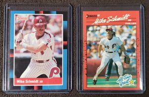 2 Mike Schmidt Baseball Cards for Sale in Westland, MI