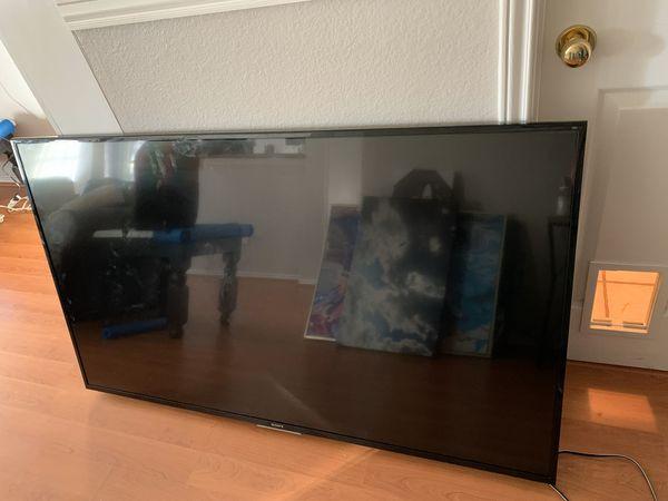 Broken Sony 65 inch tv