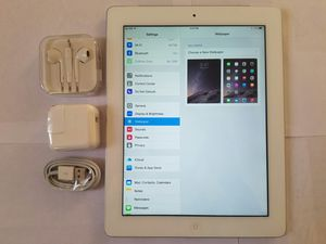 iPad 4 , 4th Generation. ( Cellular and Wi-Fi both), Excellent Condition,    Unlocked.  9.7 inch big size iPad  ( Usable with Sim and Wi-Fi) for Sale in Springfield, VA