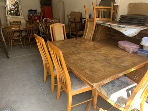 """DINING TABLE SETS & MORE """" COME BY AND SEE WHAT WE HAVE"""" for Sale in Fresno, CA"""