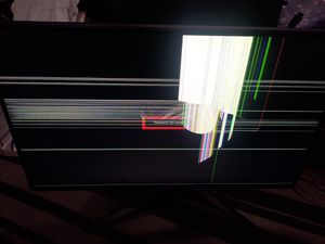 Asus 240hz monitor needs new screen for Sale in Melrose Park, IL