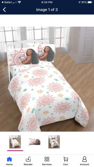 New Moana Full Sheet Set for Sale in Fort Worth, TX