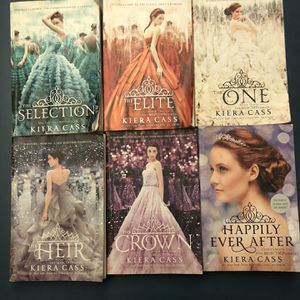 The Selection Series + Happily Ever After Book for Sale in Chino, CA