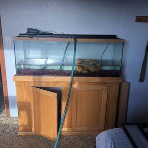 55 Gallon Fish Tank Full Setup for Sale in Monroe, WA