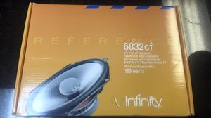 BRAND NEW INFINITY REFERENCE 6X8 DOOR SPEAKERS for Sale in Aurora, CO
