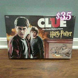 Harry Potter Clue Gameboard for Sale in Rockville, MD